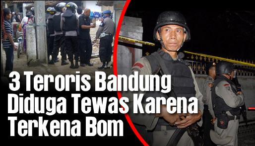 3 teroris bandung diduga tewas karena terkena bom_hl