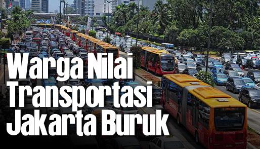 warga nilai transportasi jakarta buruk_hl